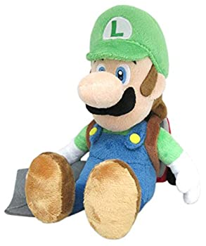Little Buddy 1353 Super Mario Series Luigi s Mansion 10  Luigi with Ghost Vacuum Poltergust Plush