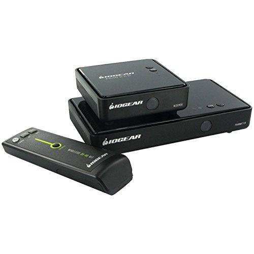 IOGEAR Wireless 3D Digital Kit with Full HD 1080P and 5.1 Channel Digital Audio, GW3DHDKIT