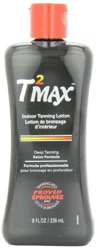 Hawaiian Tropic Tan Max Indoor Tanning Deep Tanning Salon Lotion, 8-Ounce Bottles (Pack of 2)