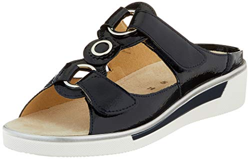 ara Damen COURTYARD Pantoletten, Blau (Navy 72), 38 EU(5 UK)