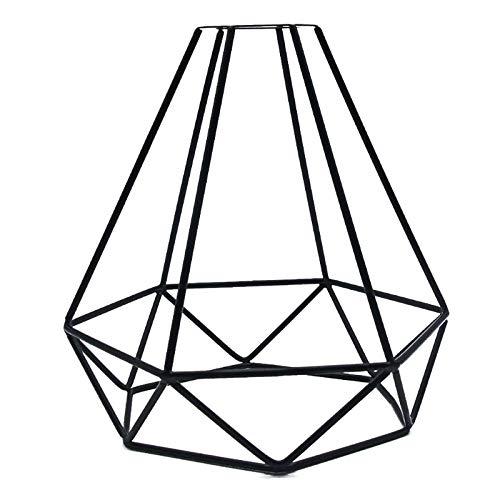 Vintage-Lampenschirm aus Metall, industrieller Vogelkäfig-Lampenschirm, kreatives Eisen, für Esszimmer, Schlafzimmer, Hotel, Dachboden, Flur (1 Stück)