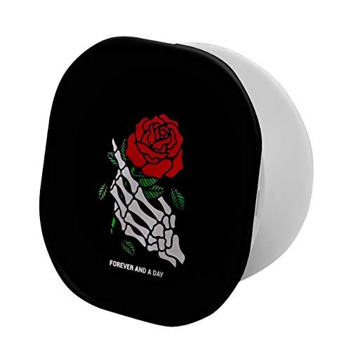 Soporte y agarre universal para smartphones y tablets — Rosas negras