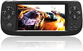 TOOGOO New 64 Bit 4.3 Inch Built-in 3000 Games Pap K3 for CP1/CP2/GBA/FC/NEO/GEO Format Games Portable HD Handheld Video Game Console(Black)