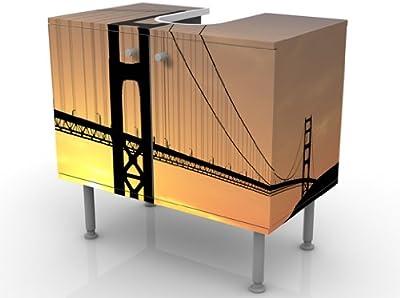 INDIGOS UG Diseño de Puente Golden Gate de 60 x 55 x 35 cm: Amazon.es: Hogar