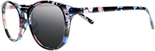 Multifocal Progressive Transition Photochromic Oval Frame 8 Colors Reading Glasses Sunglasses Readers UV400+1.0~+3.0