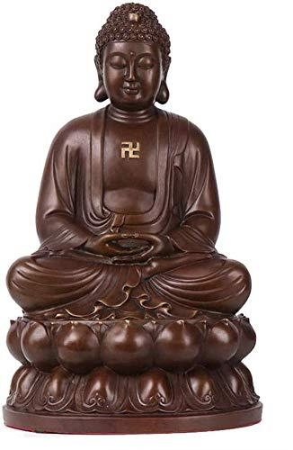Accessori per La Casa Meditando Buddha Peace Harmony Statue, Statua di Buddha per Zen Home Decor, Buddha Seduto Regali Decorazi