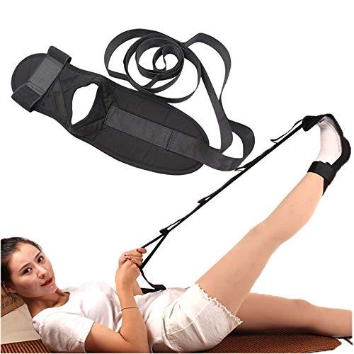 HZWZ Ligament Stretching Belt, Ankle Ligament Stretcher Belt, Yoga Strap Rehabilitation Training Belt, Foot Drop Strap Leg Training Foot Correct Ankle