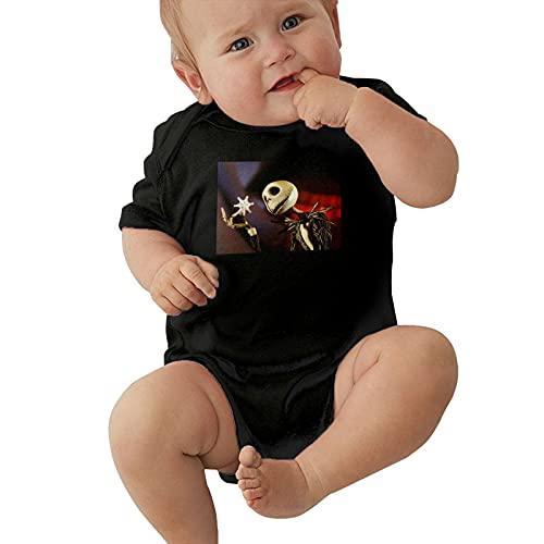 Inaayayi Enterizo de bebé La pesadilla antes de la Navidad Body de bebé para niños y niñas