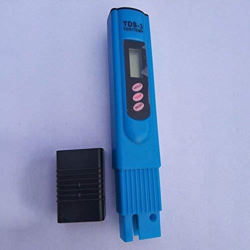 SWEEPID Tragbarer Tds LCD Digital 0-9990Ppm Wasserqualitätstest Härte-Analysator Blau