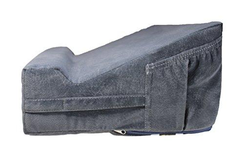 Laptop Easel, Lap Desk Pillow. Ergonomic Laptop Computer Desk & Desktop Book Stand with Orthopedic Wrist Support.