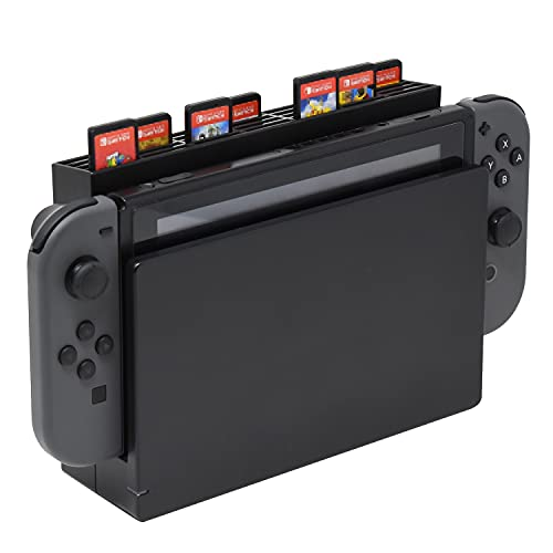 Game Card Storage with 28 Game Card Slots Card Holder Compatible with Nintendo Switch OLED/Switch Game Console
