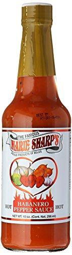 Marie Sharp's Hot Sauce, Habanero Pepper, 10 Ounce