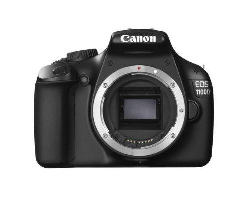 """Canon EOS 1100D - Cámara réflex Digital de 12.2 MP (Pantalla 2.7""""), Color Negro - Solo Cuerpo (Importado)"""