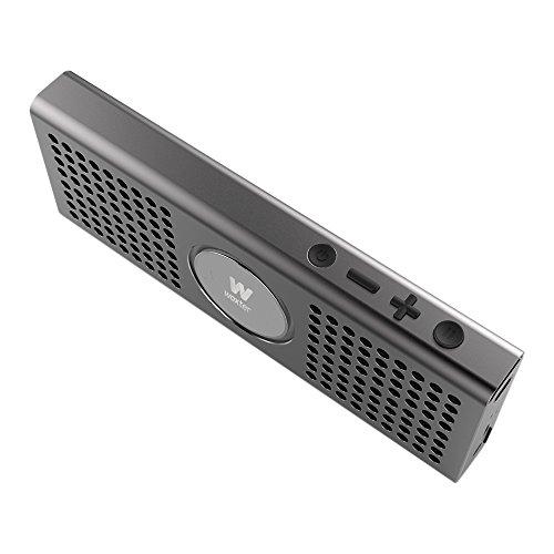 Altavoz portátil Bluetooth Ultracompacto de Aluminio Woxter Big Bass BT-20 Black
