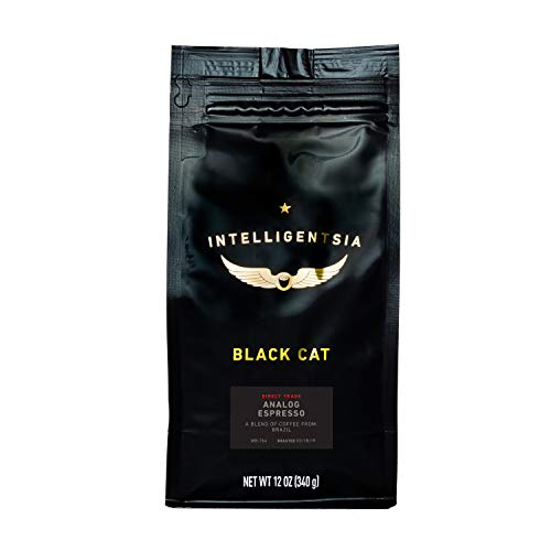Intelligentsia Black Cat Analog Espresso - 12 oz - Dark Roast, Direct Trade, Whole Bean Coffee