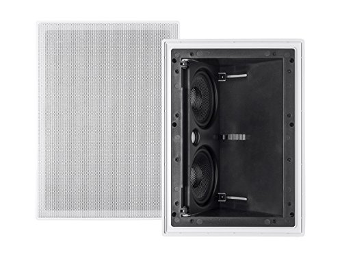 Monoprice 2-way Carbon Fiber In-Wall Surround Speaker
