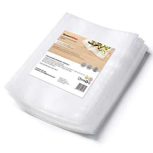 Bonsenkitchen Bolsas de Vacio para Alimentos