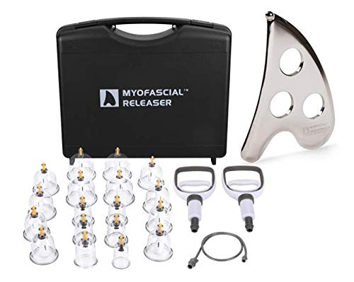 Buy Discount Cupping Set and IASTM Bundle - Professional Tools for Cupping Therapy, Guasha, IASTM an...