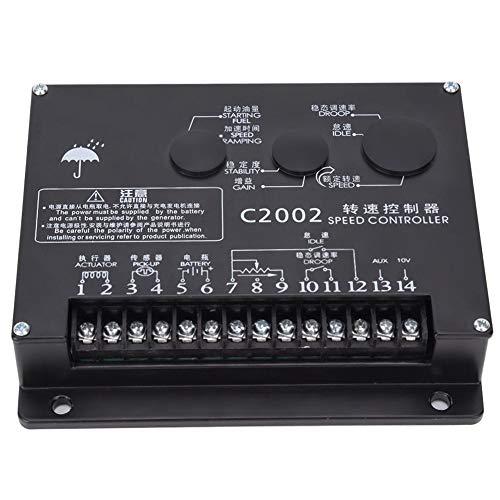 Controlador de Velocidad del Generador Circuito de Control de Circuito Cerrado Único Motor Diesel Accesorios c2002 Regulador Electrónico Piezas de Repuesto