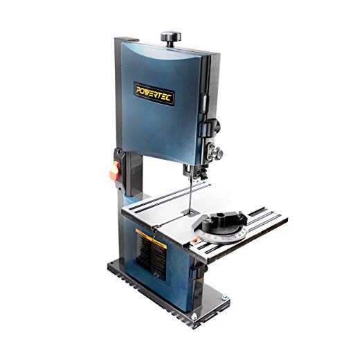 POWERTEC Benchtop Bandsaw for Metal-Cutting