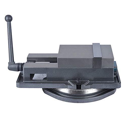 Vielseitiger Hochleistungs-Präzisionsfräs-Schraubstock mit drehbarer Basis, starker Klemmkraft, ideal für die Handhabung von Drähten oder die Fertigstellung von Präzisionsteilen