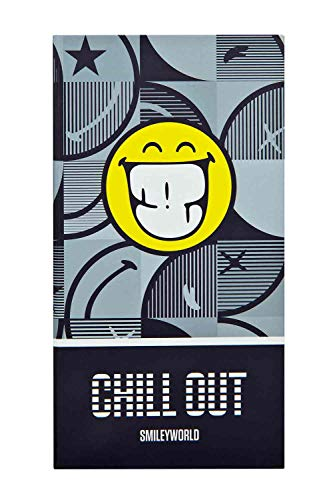 Undercover SMIL0777 Hardcover Book with 7 Sticky Notes Pads Smiley Design Approx. 16.8 x 9 x 2 cm Practical Organiser for Learning, Work and Leisure