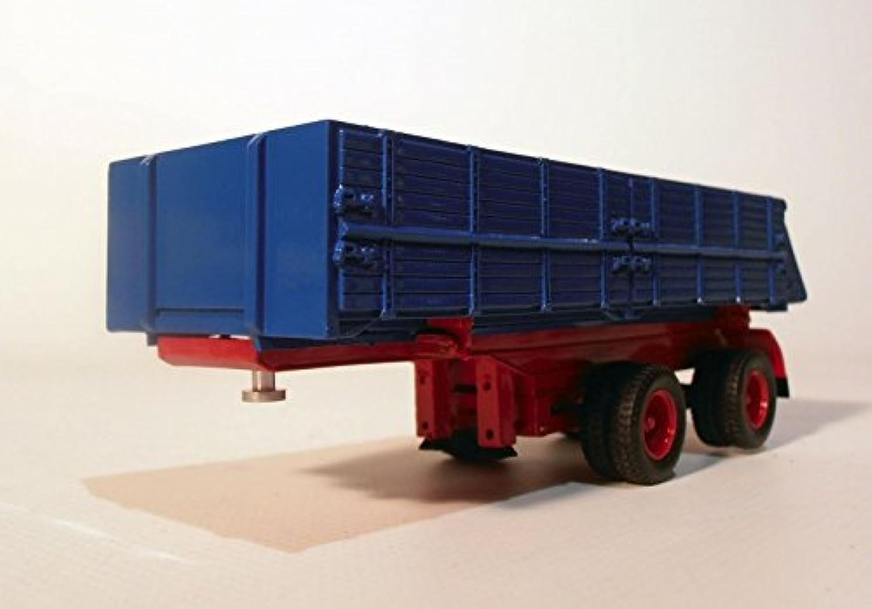 disfruta ahorrando 30-50% de descuento GMTS - G0006520 - Kippmuldenauflieger 2 eje azul 01 01 01 50, 11 toneladas. Hachas, versión limitada en resina  el mas de moda