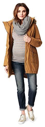 Noppies Damen Jacket Malin 2-Way Umstandsjacke, Gelb (Camel C219), M