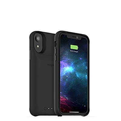mophie Juice Pack Access - Ultra-Slim Wireless Battery Case - Made for Apple iPhone XR (2,000mAh) - Black