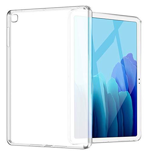 Yoowei Funda Compatible con Samsung Galaxy Tab A7 10.4' 2020, Espalda Translúcida Mate Blanda Flexible Ligera Ultra Delgada Protectora Case para Modelo T505/T500/T507