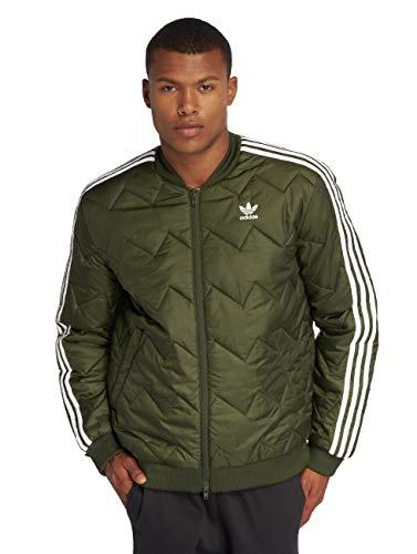 Adidas Superstar Quilted Jacke Herren Oliv, XS - 42