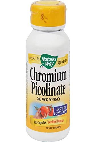 Natures Way Chromium Picolinaat - 100 capsules