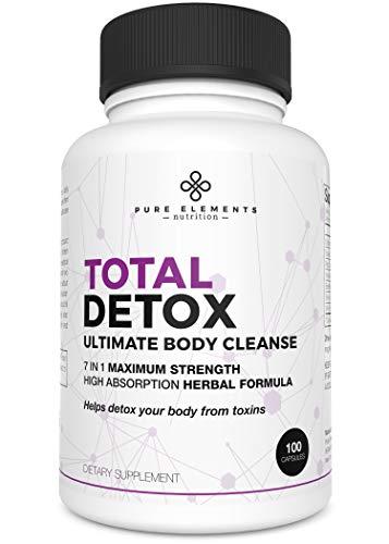 Detox Cleanse for Women - Detox Pills for Body Cleanse - Colon Cleanser & Detox for Weight Loss for Women (100 Capsules)
