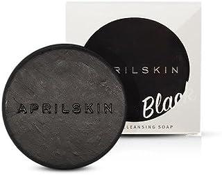 APRIL SKIN マジックストーン (リニュアル) ソープ/国民石鹸/Magic Stone (ブラック) [並行輸入品]
