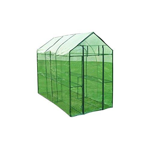 vidaXL Invernadero XL de Acero Caseta Cultivo de Plantas para Jardín Terraza