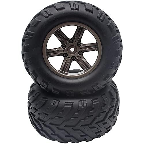 Eddwiin 2 Pezzi di Ricambio per Pneumatici per Auto RC ZJ01 15-ZJ01 per Ruota per Auto GPTOYS S911 RC ( Color : Black )