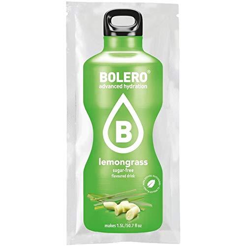 Bolero - Bolero con Stevia - 9g - Citronella LemonGrass, Scatola da 12 Unitá