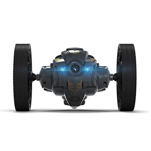 Umiwe RC Bounce Car, 2.4GHz WLAN Control Remoto RC Stunt Car con Luz LED, Cámara y Música, Coche Sumo USB Recargable Rotación de 360 \u20b\u20bGrados, Altura de Salto de 28 in