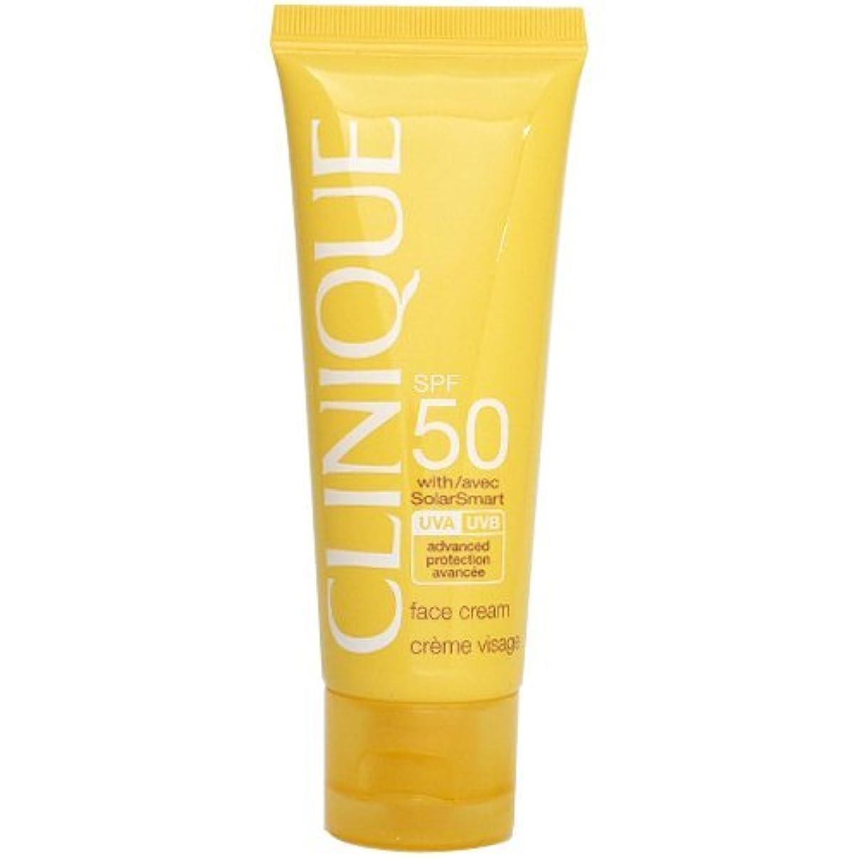 補足お香熱狂的なクリニーク CLINIQUE SPF50 フェース クリーム SPF 50 PA+++ 50mL 【並行輸入品】