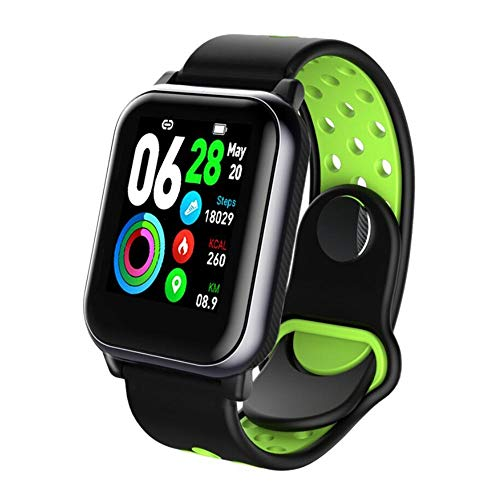 SAILORMJY Fitness trackers, Smart Band,Fitness horloge,Bluetooth verbinding met gezondheid monitoring, informatie push, slaap analyse, stappenteller voor android platform, Apple iOS platform C