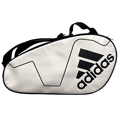 adidas Paletero pádel Carbon Control White