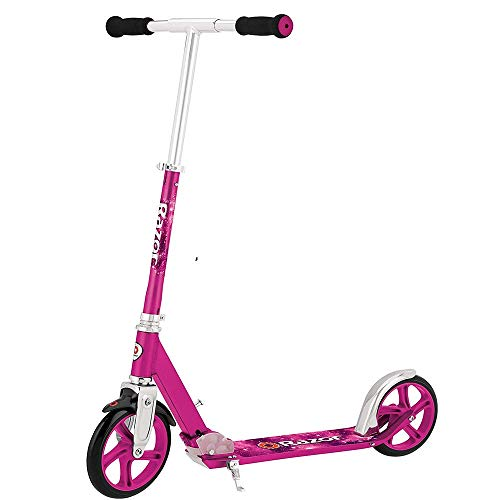 Razor, A5 Lux Kick Scooter, Age 8+, Max Weight 100 kg, Pink, Large