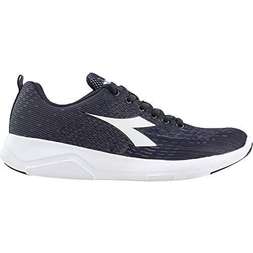 Diadora Womens X-Run 2 Light Running Sneakers Shoes - Grey - Size 9.5 B