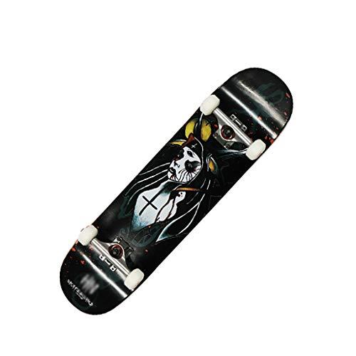 Purchase LIUFS-Skateboards Complete Skateboard Professional Skateboard Children 31.58 Inch Short Boa...