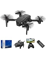 infinitoo RC Drone with 4K HD Camera WiFi FPV RC Quadcopter with Trajectory Flight,3D Flips,Altitude Hold,Headless Mode,G-Sensor,One Key Return,Speed Control for Kids Adults
