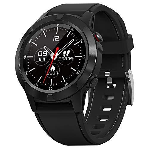 """gandley Smartwatch, GPS Multisport Fitness Tracker Smart Watch für Herren, 1.3\"""" Full-Touchscreen Armbanduhr mit Pulsuhren, Schrittzähler, Schlafmonitor, IP67 Wasserdicht Sportuhr für IOS Android"""
