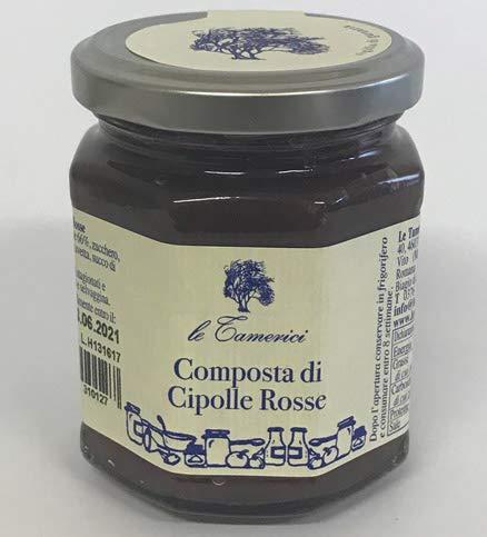 Le tamerici - Composta di Cipolle Rosse 120 g