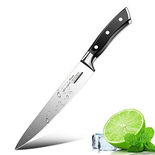 Cuchillo Multiusos de Cocina, SKY LIGHT 15 cm Cuchillo Utilitario Cuchillo Utility Knife Profesional Cuchillos de Acero Inoxidable