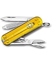 Victorinox Unisex – nóż kieszonkowy dla dorosłych Classic SD Colors, Tuscan Sun, 58 mm