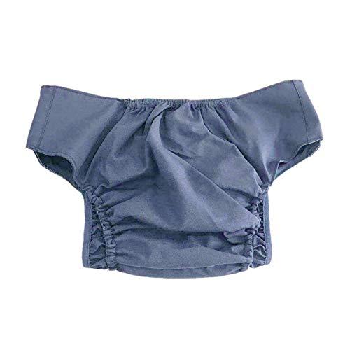 WLIXZ Waschbare Windeln für Erwachsene, auslaufsicher, atmungsaktiv, Klettverschluss, schnell trocknend